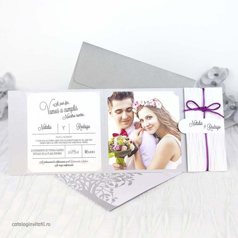 Invitatie Poza Miri Pom Argintiu 39206 Cataloginvitatii