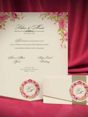 trandafiri invitatie
