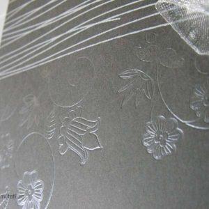 detaliu embosari cu folio