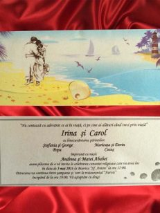 invitatie miri pe plaja 2259