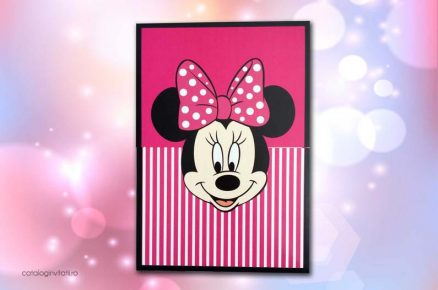 invitatie minnie