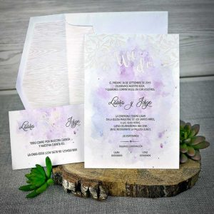 Invitatie plic si card confirmare