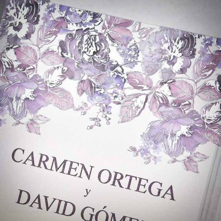 Detaliu apropiat model floral