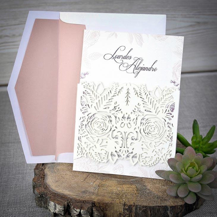 Invitatie Paper Art Laser 393281 Cataloginvitatii