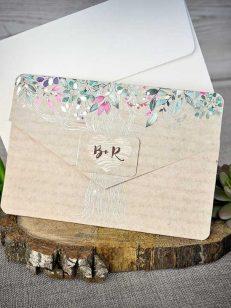 Detaliu invitatie inchisa