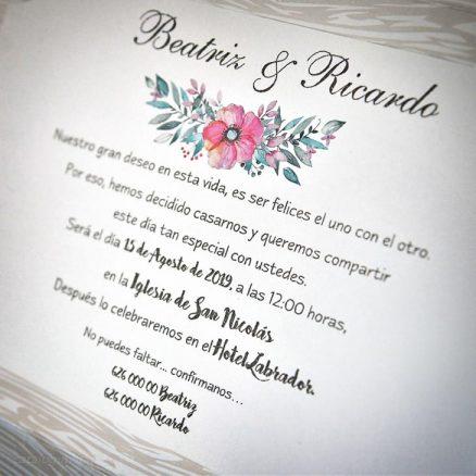 Detaliu text invitatie