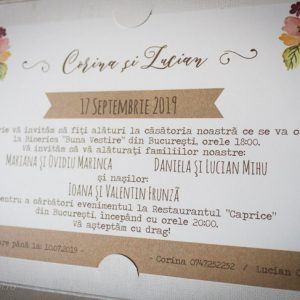 Text invitatie in romana