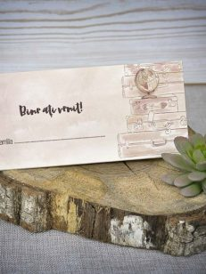 plic bani place card luggage