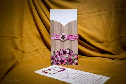 Teaca card invitatie