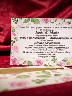 Invitatia tip card 4025