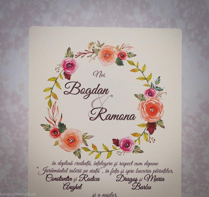detaliu coronita flori