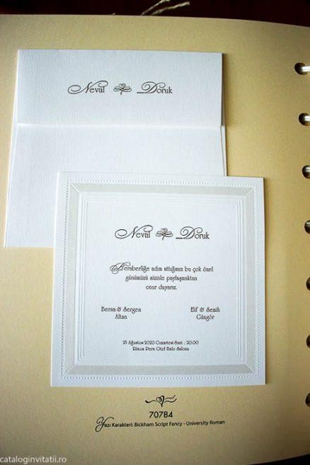 fotografie invitatie din catalog