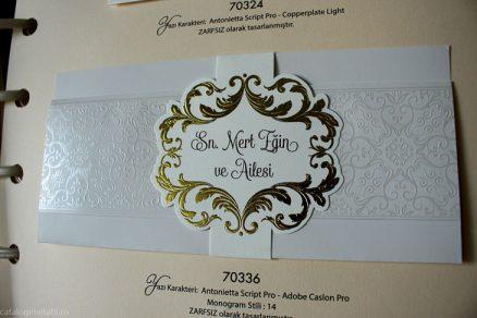detaliu invitatie in catalog