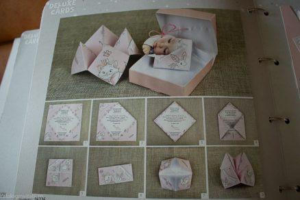 metoda de asamblare Invitatie botez Solnita Origami 15726