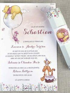 detaliu departat Invitatie botez Winnie the pooh 15712