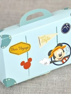 Invitatie botez valiza Mickey the Mouse