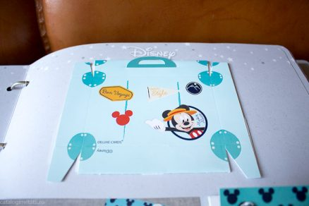 Invitatie botez valiza Mickey the Mouse