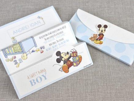 detaliu invitatia impaturita A sweet Baby Boy 15719