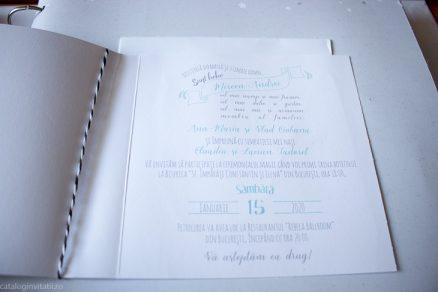 detaliu text din catalog Invitatie botez winnie the pooh 15724