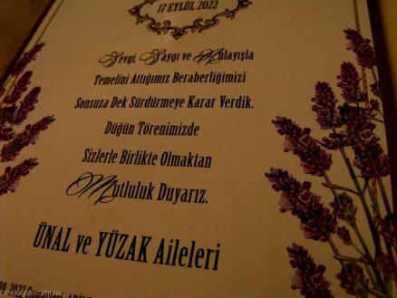 detaliu text Invitatie florala 70231