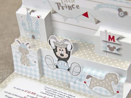 detaliu apropiat decupaj mickey Little Prince Mickey 3D 15702