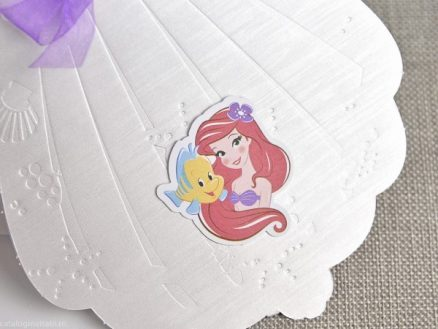 detaliu sticker Little mermaid MIca sirena 15703
