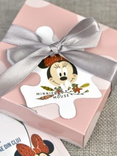 detaliu cutie Minnie Mouse Puzzle 15711