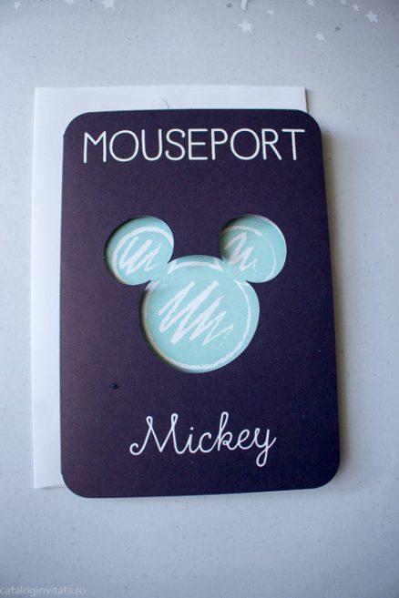 detaliu din catalog invitatie Mouseport Mickey 15705
