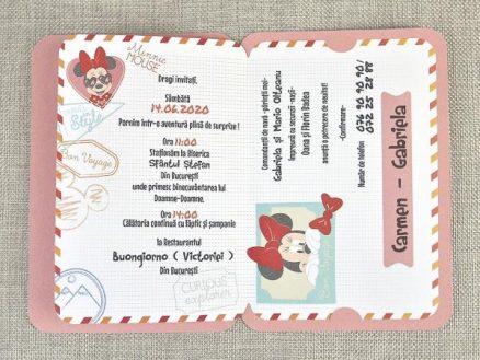 detaliu text Mouseport Minnie 15706