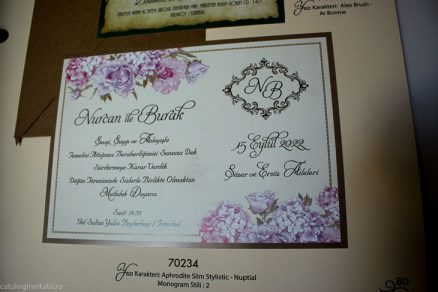 detaliu din catalog Invitatie 70234