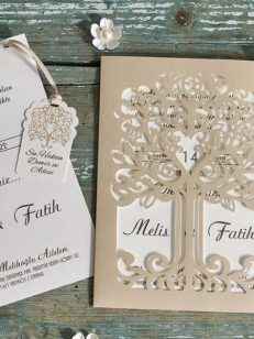 Invitatie laser tree cut 70325