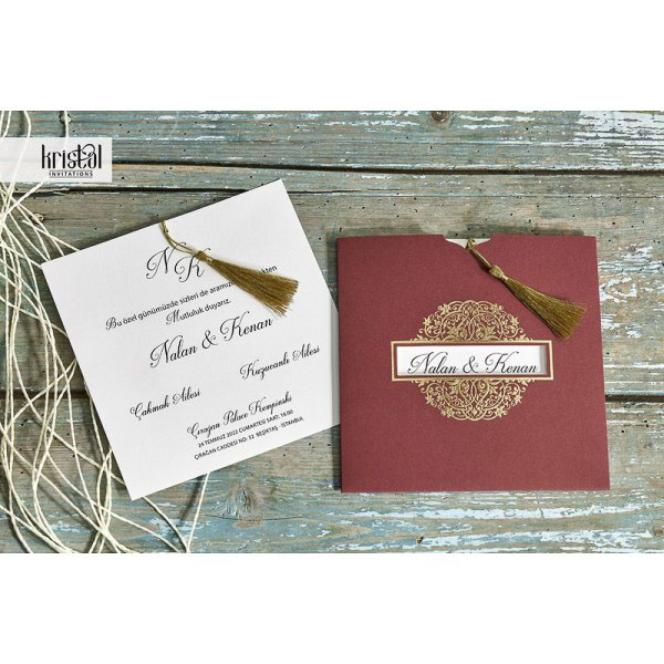 detaliu departat Invitatie model 70308