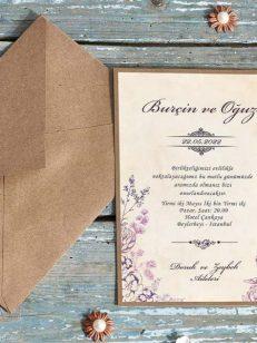 detaliu apropiat Invitatie model cappuccino flavor 70237