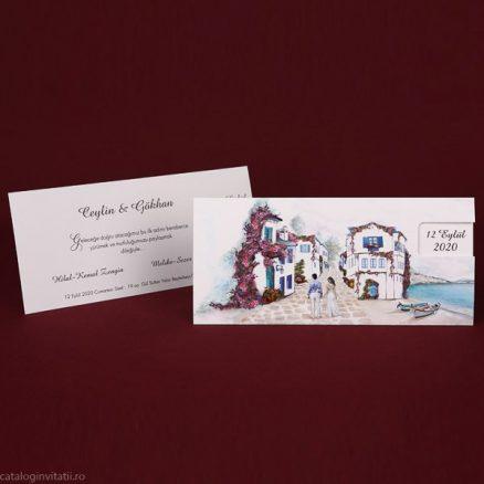 Invitatie model casa noastra de langa lac 70109