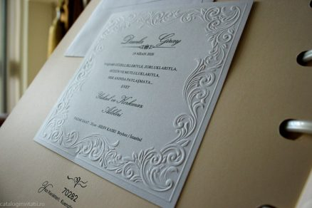 detaliu din catalog embsari Invitatie model clasic 70282