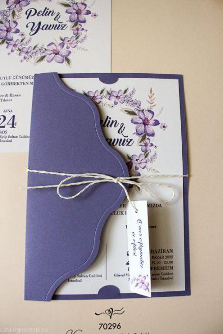 detaliu din catalog invitatie Invitatie model 70296