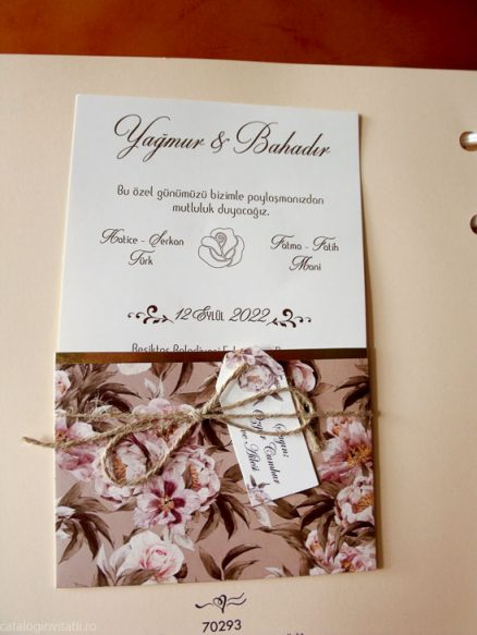 detaliu din catalog invitatie deschisa 70293