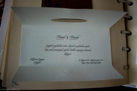 detaliu text interior Invitatie model 70227