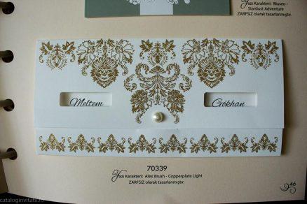 detaliu vazut din fata catalog Invitatie 70339
