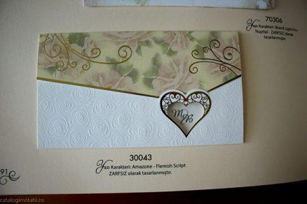 detaliu din catalog invitatie 30043