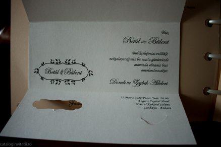 detalii din catalog Invitatie model 70257