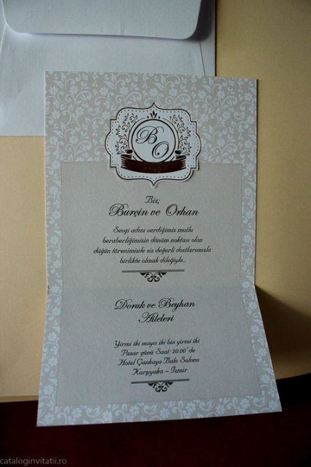 detaliu din catalog invitatie 70309 deschisa