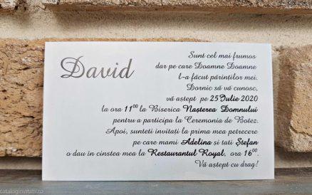 detaliu text din catalog Invitatie 8034