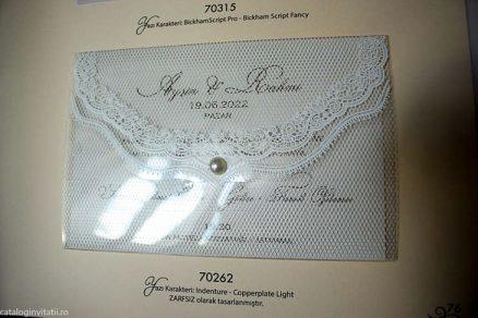 detaliu invitatie din catalog 70262