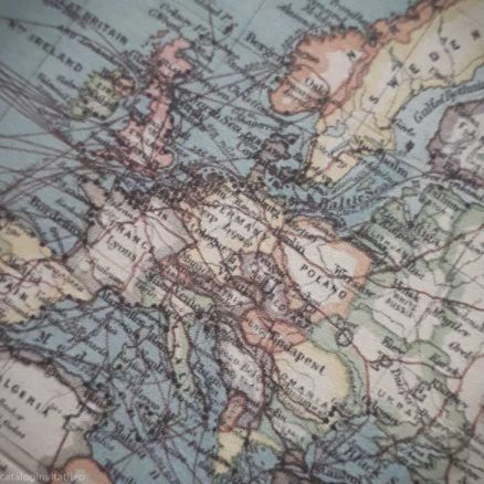 detaliu din catalog harta mapamond 39817