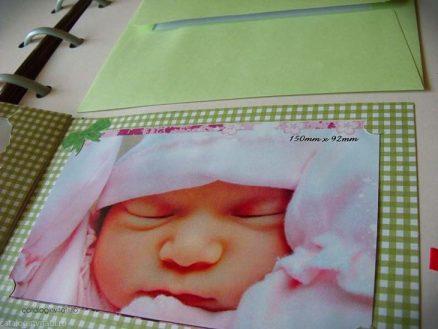 detaliu lateral poza bebe