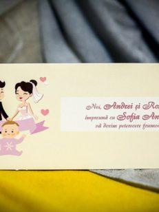 detaliu frontal plic bani nunta si botez 237