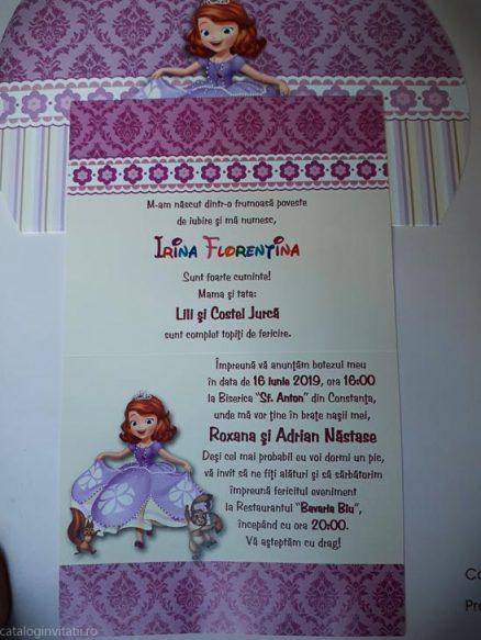 detaliu din catalog invitatie 142