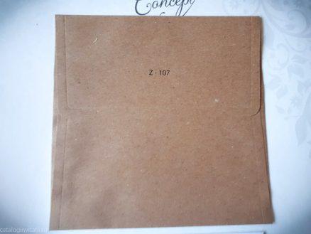 detaliu din catalog plic Z107