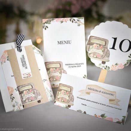 set accesorii nunta